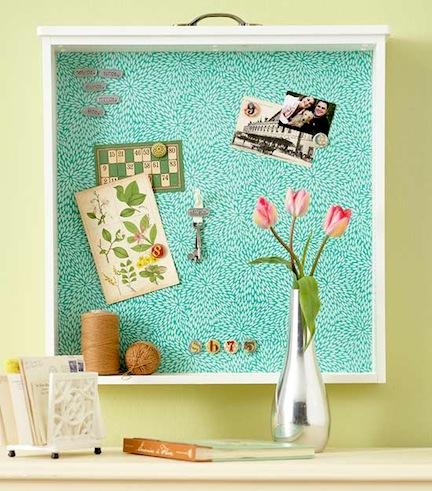 drawer-cork-board