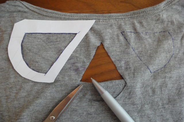 cut out T-Shirt